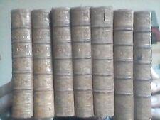 Condillac- Cours  pour l'instruction du prince de Parme 1789  8 v. (incomplet)