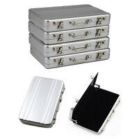 Metal Aluminum Password Briefcase Business ID Credit Holder BoxWa Card Case F5X3