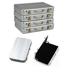 Metal Aluminum Password Briefcase Business ID Credit Card Holder Case Box Wallet