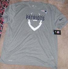 NEW NFL New England Patriots Football T Shirt NIKE Men 3XL XXXL Dri Fit NEW NWT