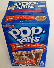 Pop tarts Frosted Chocolate Chip Cookie Dough 8 toaster pastries 400g Kellogg's
