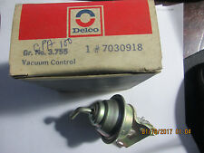 NOS DELCO 73 74 75 76  Pontiac 1BBL Choke Pull Off  Vacuum Break GENUINE GM