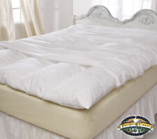 Feather Bed Cover With Zip Closure - Full