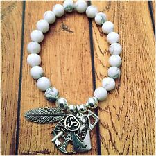 21st Birthday Gift Bracelet Key Angel Feather Tree Of Life Follow Your ❤️ Charms