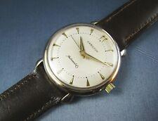 Vintage Hamilton Automatic 10k Gold GF Mens Watch  17J 661 1950s