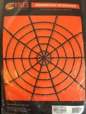 Shimmering SpiderWeb (black), New In Package