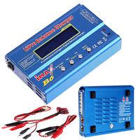 New iMAX B6 LCD Screen Digital RC Lipo NiMh Battery Balance Charger EU/US Plug