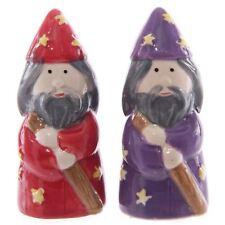 Wizards Salt & Pepper Set Izzy Whizzy 9 cm haut en céramique Salière poivrière Lisa Parker
