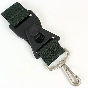 Skyway Luggage Strap Add A Bag or Accessory Strap Green w/ Silver Clasp