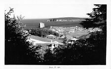 Real Photo Perce Quebec Canada along the Water Antique Postcard L2630