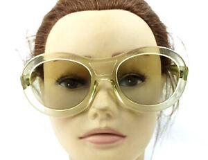 Vintage Transparent Sunglasses Nos France made super Rare 1950's French