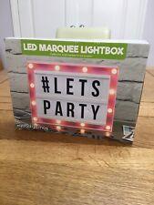LED Marquesina Lightbox por gloabal Gizmos, Nuevo, En Caja