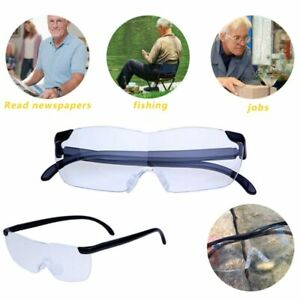Big Vision Unisex 250% Magnifying Glass Magnification Eyewear Reading