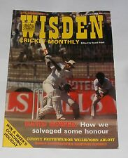 WISDEN CRICKET MONTHLY MAY 1984 - DAVID GOWER: HOW WE SALVAGED SOME HONOUR
