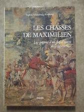 LIMITED EDITION Les Chasses de Maximilien Tapestry Tapisserie Belgium Belgian