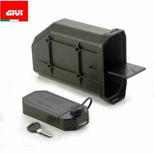 GIVI S250 Tool Box Cassette Tool Motorcycle Under Key Without Anchor