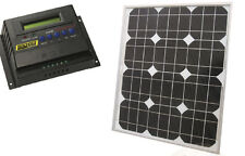 SEACHOICE 14421 Solar Panel & 14401 Solar Controller 12/24V 30 Amp Boat RV Kit