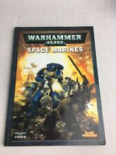 WARHAMMER 40.000 CODEX SPACE MARINES supplemento Retro morbido