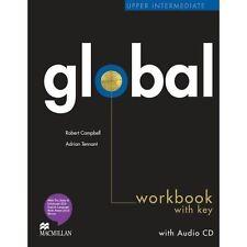 Global Upper Intermediate Work Book + CD with Key, Adrian Tennant,Robert Campbel
