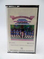 Tchaikovsky: Nutcracker Suite, Prokofiev, Leonard Bernstein NY Phil Cassette NEW
