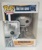 FUNKO POP! TELEVISION: DOCTOR WHO - CYBERMAN 224 4631 VINYL FIGURE NEW
