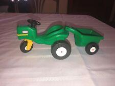 Little Tikes Dollhouse Garden Tractor And Cart Trailer