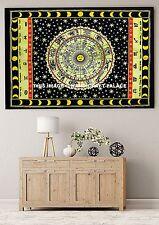 Poster Baumwolle Kleine Indischen Astrologie Wand Hängen Kunst Mandala Tapestry