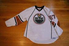Gilbert BRULE Game Worn Used Edmonton Oilers 2010-11 Jersey Meigray Team CANADA