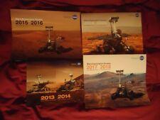 Lot 4 Nasa Mars 2 Year Calendars 2013 2014 2015 2016 2017 2018 2019 2020 Photos