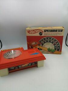 Vintage Hot Wheels Speedometer - Mattel - Boxed retro hot wheels