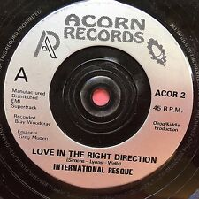 International Resque - Love In The Right Direction / Miss Vindaloo - ACOR-2 Ex