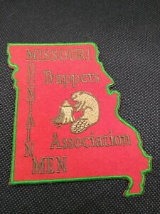 Missouri mountain men trappers association iron on Patch