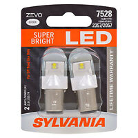Sylvania Zevo 7528 White LED Bright Interior Exterior Mini Light Bulb, 2 Pack