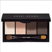 NEW LED BOBBI BROWN READY in 5 EYE SHADOW PALETTE, 4 COLORS, HOT STONE, ESPRESSO