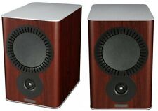 Mission QX-2 Bookshelf Speakers - RoseWood Compact Home Loudspeakers