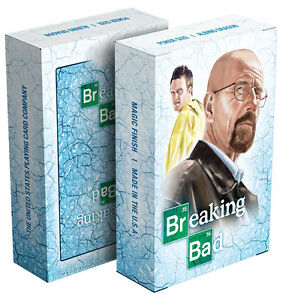 """Albino Dragon """"Breaking Bad – Blue Ice"""" Officially Licensed Playing Cards"""