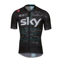 Castelli Team Sky Climber's 2.0 Cycling Jersey Mens Top Medium New Mesh Rapha UK