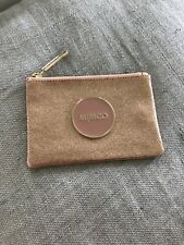 BNWT MIMCO Shimmer Rose Gold MIM POUCH RRP $49.95