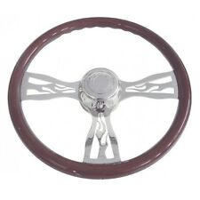 "Flame Steering Wheel (18"") - Peterbilt 98+  &  Kenworth 01+"
