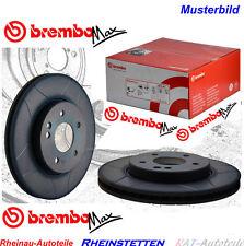 Brembo Max 2 x Bremsscheiben 325mm-VA-BMW 3 Cabriolet E46 330 Ci 330 Cd