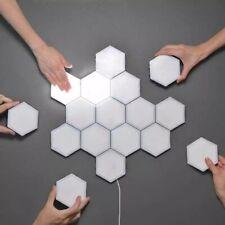 Hexatile White LED Night Light Touch Sensitive Magnetic Decorative Hexagon Light