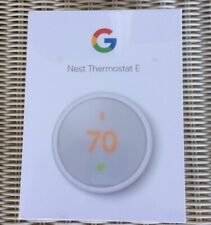Google Nest ThermostatE - White (T4000Es) Factory Sealed Brand New