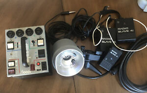 DYNALITE M1000X POWER PACK W/ 1 2040 HEAD LIGHT w/ Cables and Accessories!