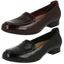 Patent Leather Wide (E) Shoes for Women