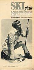 K- Publicité Advertising 1966 Les Vetements de ski Fusalp
