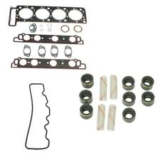 Mercedes R107 Driver Left Head Gasket Set w/ Valve Stem Seals & Cover Gasket