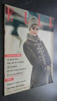 Revista Elle N º 631 Revista Semanal 27 Janvier 1958 ABE