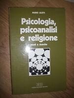 MARIO ALETTI - PSICOLOGIA,PSICOANALISI E RELIGIONE.STUDI E RICERCHE - 1992- (UM)