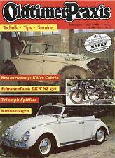 Oldtimer Praxis 3 90 1990 DKW Hummel NSU 1200 C Lanz DKW 3=6 Spitfire Capri 1700
