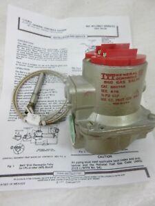 ITT GENERAL CONTROLS B60Y65 MILLIVOLT FURNACE GAS VALVE W/ PILOT GENERATOR